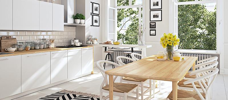 välstädat hem som abonnerar på hemstädning Stockholm