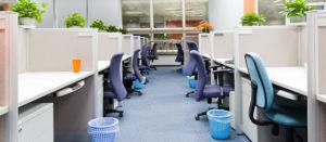 Städad kontorsmiljö