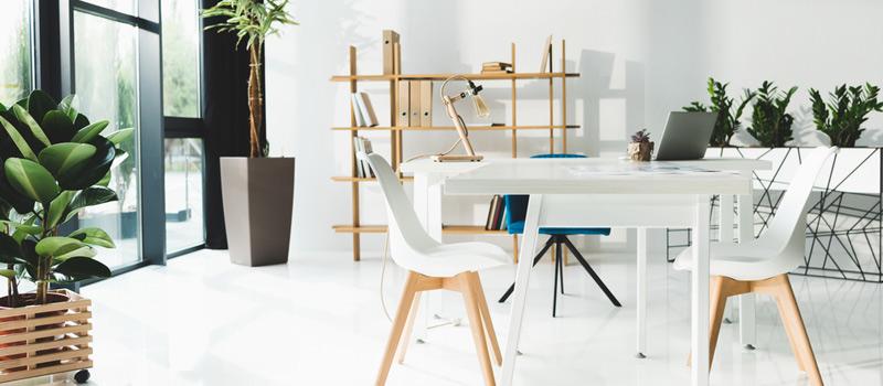 modernt kontor i Stockholm som använder kontorsstädning