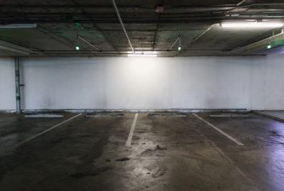 välstädat garage