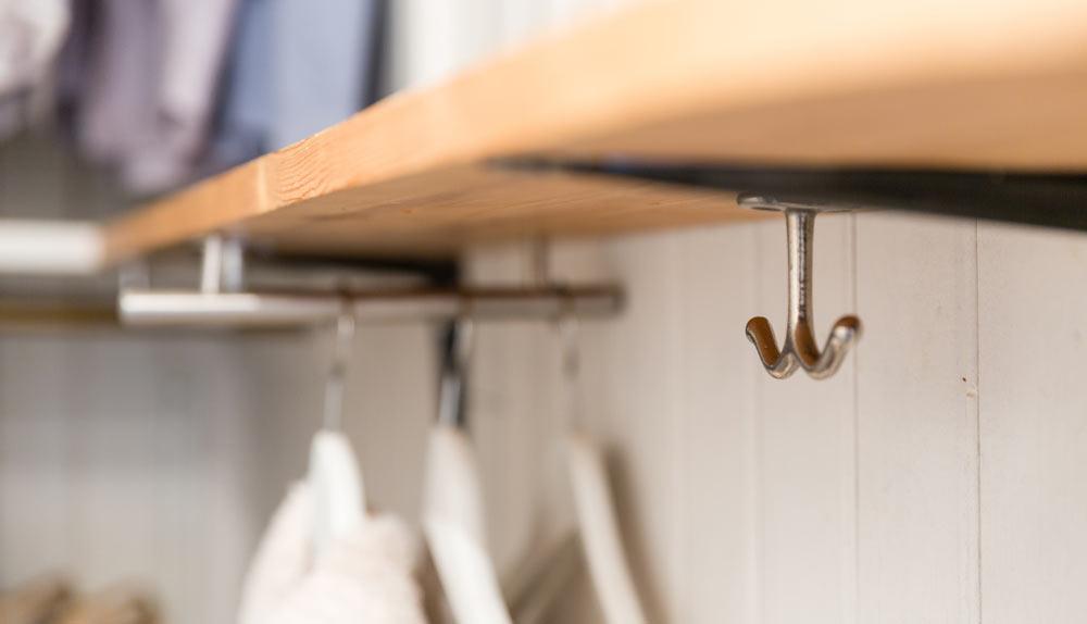 krokar i garderob