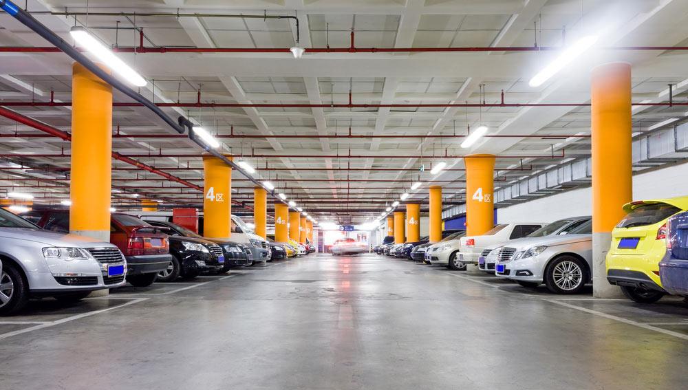 säkerhet i parkeringsgarage