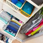 städa din garderob