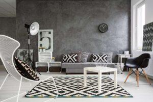 lättstädade mattor