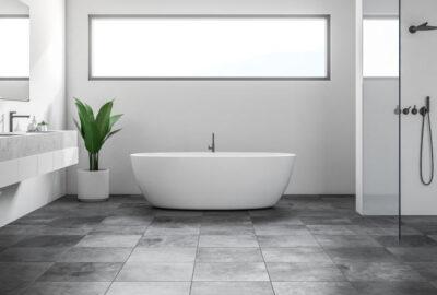 badrum med stengolv