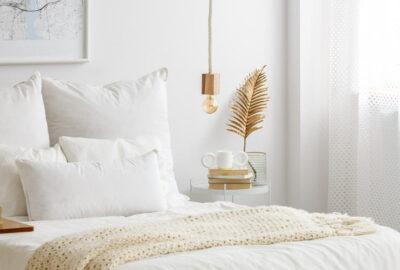 minska mängden damm i ditt sovrum