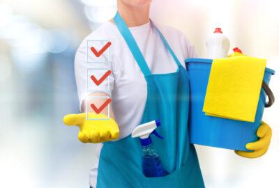 Checklista för att städa hemma