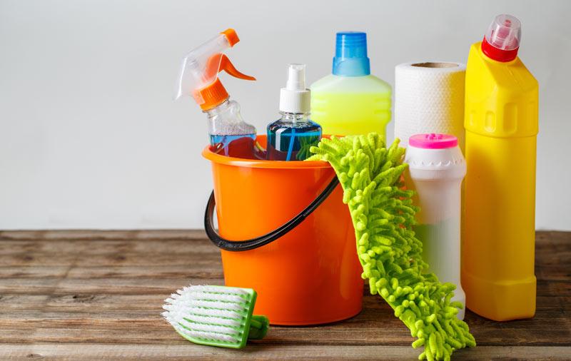 rengöringsmedel för städning